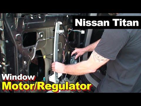 Compatible with 2004-2015 Nissan Titan 4 Door Crew Cab Passenger Side Right Rear Door Window Glass