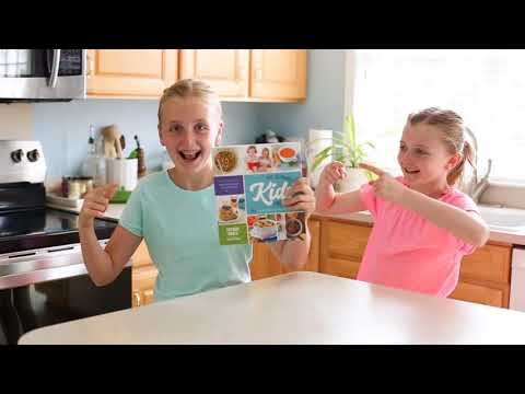The Ultimate Kids' Cookbook Book Trailer