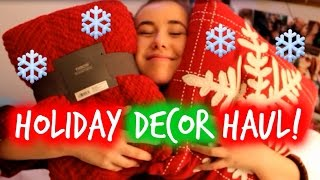 Holiday Decor Haul | Target & More Thumbnail