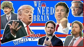 We Need Brain: Songify the G.O.P. Debate!