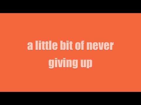 A Little More Us - Stereo Skyline (lyrics)