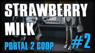 LA GALERE COMMENCE (Portal 2 Coop #2 avec Erika & Crazy)