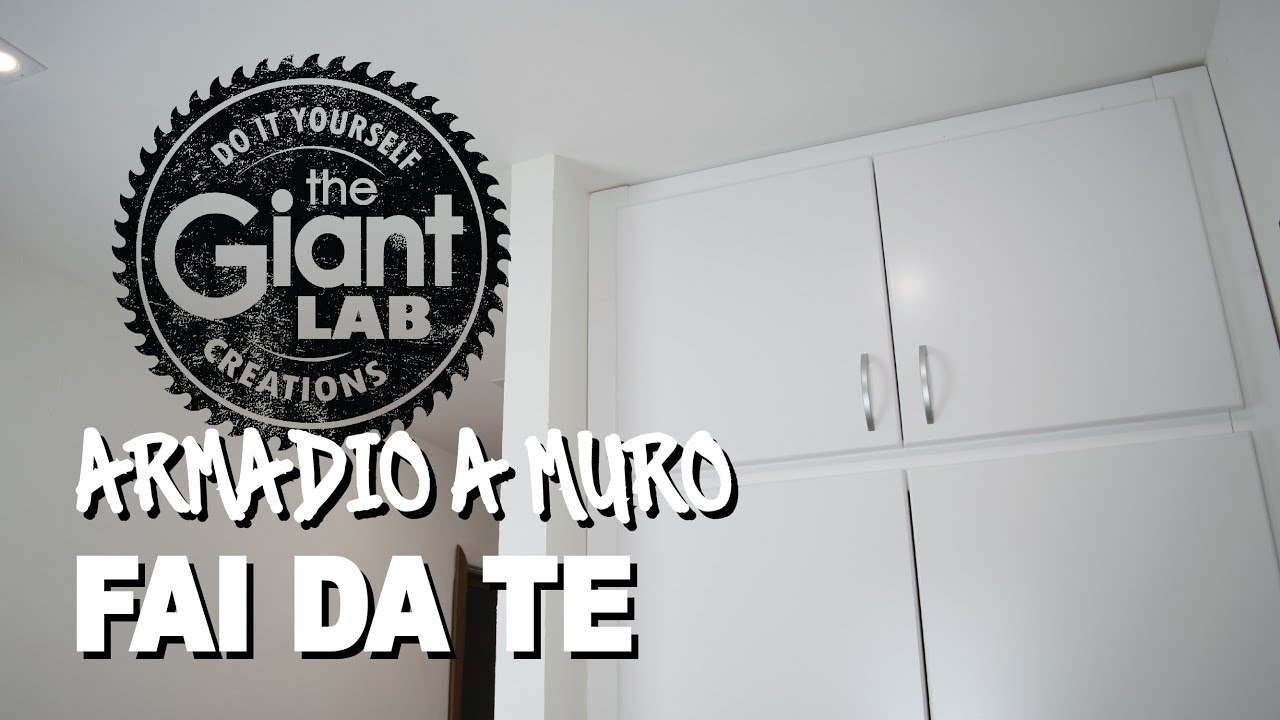 Ante Decorate Per Armadi A Muro.Diy Wall Closet Armadio A Muro Fai Da Te