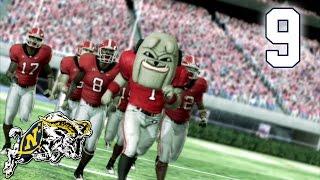 NCAA Football - Part 9 - Navy Midshipmen vs University of Georgia Bulldogs