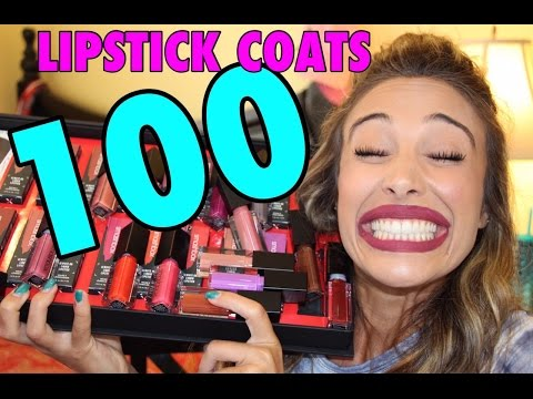 100 Coats of Liquid Lipstick Challenge I Sierra Dallas
