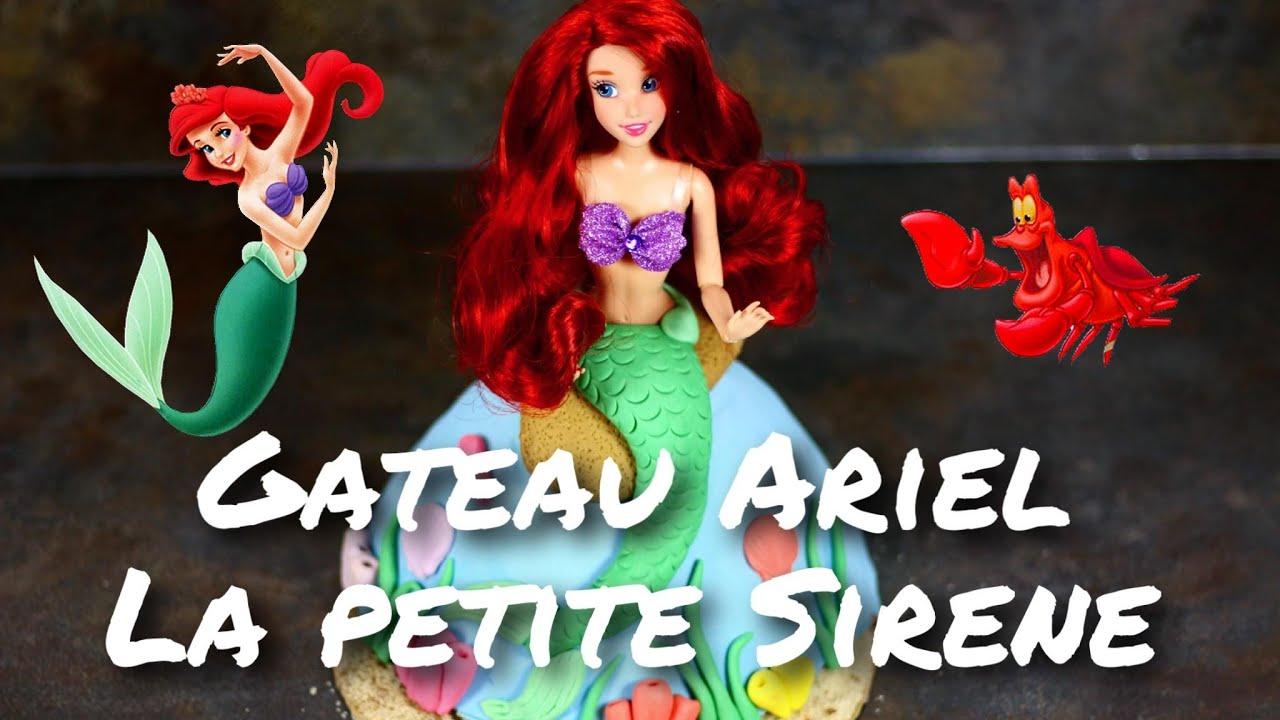Recette Gateau Ariel La Petite Sirene Disney Ariel