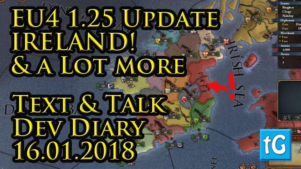 EU4 1 25 Update / Patch all Dev Diaries, Videos, Summaries