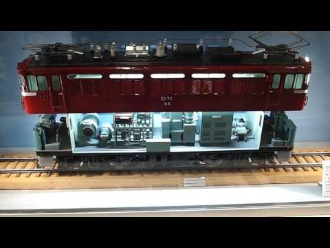 Kyoto Railway Museum locomotive model