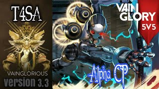 5v5 T4SA | Alpha CP - Vainglory hero gameplay from pro player