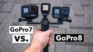 GoPro 7 vs. GoPro 8 Is It Worth The Upgrade? | My Thoughts + Comparison Test Footage