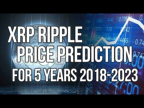 Ripple XRP Prediction For 5 Years 2018 - 2023