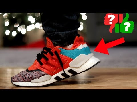 Most UNDERRATED adidas SNEAKER in 2018? EQT ADV 9118 Review