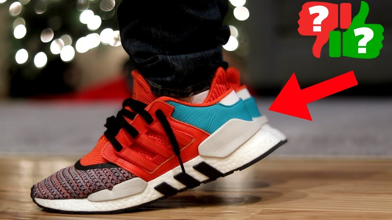 104b303d24b Most UNDERRATED adidas SNEAKER in 2018? EQT ADV 91/18 Review
