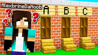 noob Girl learns Minecraft for FIRST time...