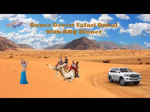 Evening Red Dunes Desert Safari Dubai With BBQ Dinner Tribal Trails Tourism