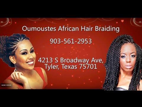 Oumouste's African Hair Braiding in Tyler & Longview Texas (903) 561-2953