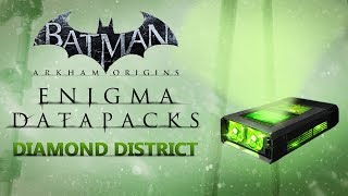 Batman: Arkham Origins –  Enigma Datapacks – Diamond District