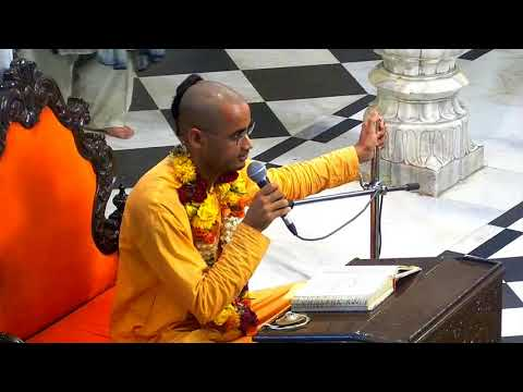 Evening Bhagavad Gita Class 02 12 by  Mahaprabhu Rama das on 26th Feb 2018 At ISKCON Juhu