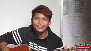 ប រ ថ ន គ ត ចង ក ប រអ ន bra tna ke jong kbae oun guitar cover by chamrong