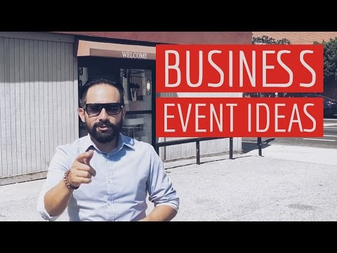 Check Out What This Company Did - Corporate Business Event Ideas