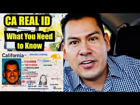 How to get a Real ID California: My DMV Experience