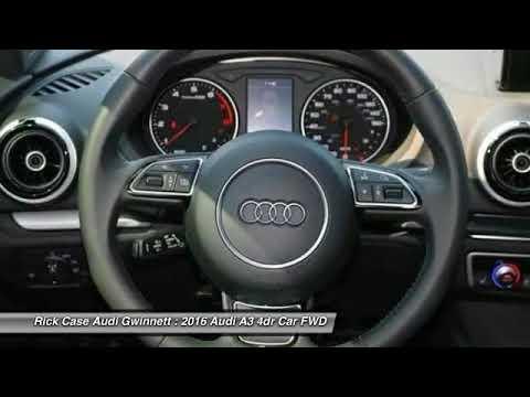 Audi A AJRA YouTube - Audi gwinett