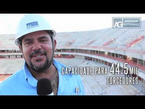 Andrade Gutierrez -- Arena da Amazônia - Um passeio pela Arena da Amazônia