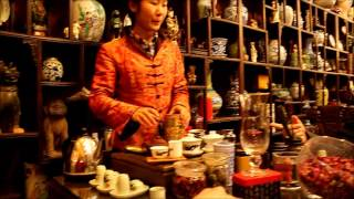 A Chinese Tea Shop Experience in Beijing