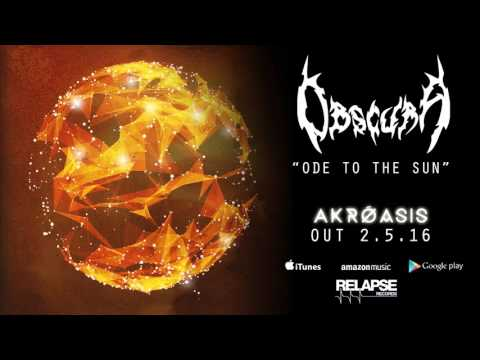 """OBSCURA - """"Ode to the Sun"""" (Official Track)"""