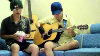 Con duong vang e - by Ma and Mr D - guitar cover