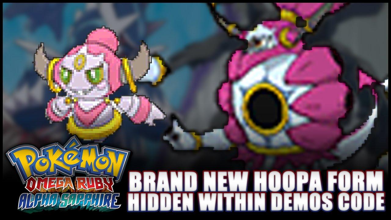 Pokémon Omega Ruby and Alpha Sapphire: News - Mega HOOPA? New ...
