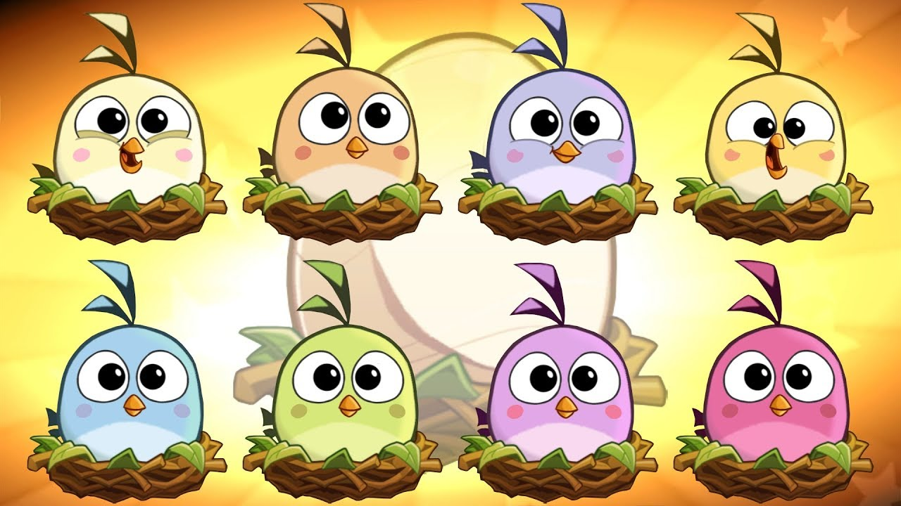 Angry Birds 2 – Hatchling LEVEL 1 up to LEVEL 8