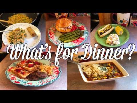 What's for Dinner?| Easy & Budget Friendly Family Meal Ideas| June 17-22, 2019