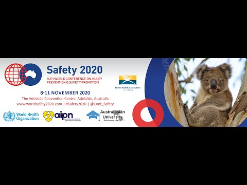 Welcome to Safety 2020 - Richard Franklin 2020 Conference Convenor
