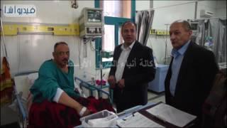 بالفيديو : محافظ الأسكندرية يتفقد مستشفى جمال عبد الناصر للإطمئنان على تقديم الخدمات الطبية: