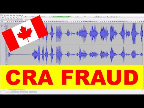 CANADA REVENUE AGENCY FRAUD – Recorded from call