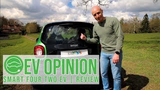 Smart Four Two Electric Drive | Test Drive & Review