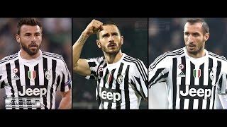 Barzagli Bonucci Chiellini Defensive Skills & Tackles 2016 Juventus