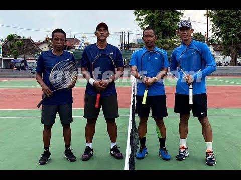 Bonit Wiryawan/Sulistyo Wibowo Juara Turnamen Tenis Gandok Cup Yogyakarta