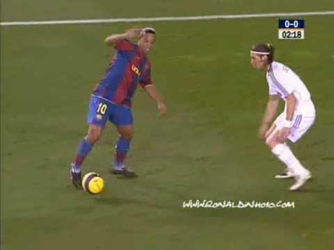 Ronaldinho vs Madrid 07 (music - Fall out boys)