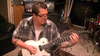 How to play Temptation by Cradle Of Filth on guitar by Mike Gross