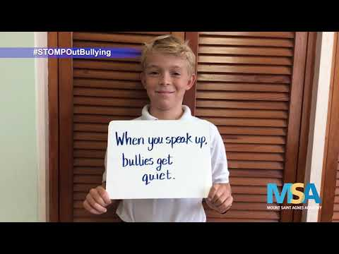 Mount Saint Agnes STOMP Out Bullying, October 7 2019