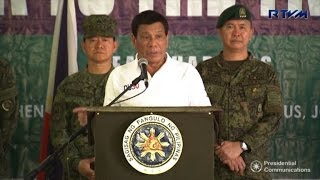 Philippines' Duterte vows to ignore Supreme Court on martial law
