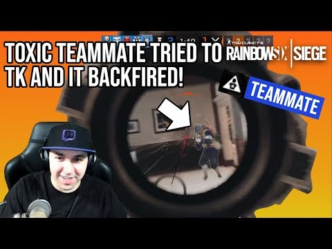 Toxic Teammate Tried to TK and it Backfired