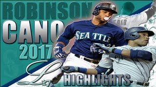 Robinson Cano 2017 Highlights ||