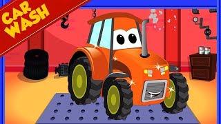 Traktor für Kinder | Autowäsche | Kinder Videos | Tractor ...