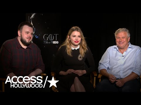 'Game Of Thrones' Stars On Avoiding Spoilers In Interviews | Access Hollywood