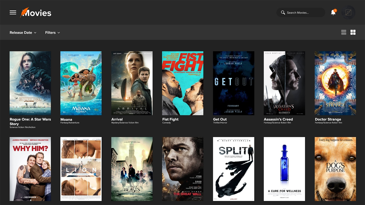 Top 10 Movie Streaming Sites For Free 2018 Firebebblecom