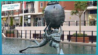 New Divers Memorial | Daily Scuba News (w/ Shaun)
