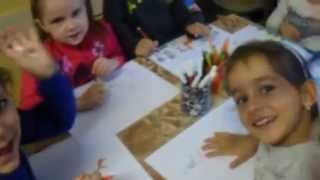 Bulgarian children draw Zarafa